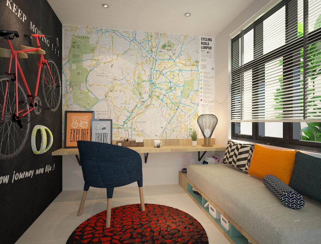 New single storey corner home Ipoh - bedroom