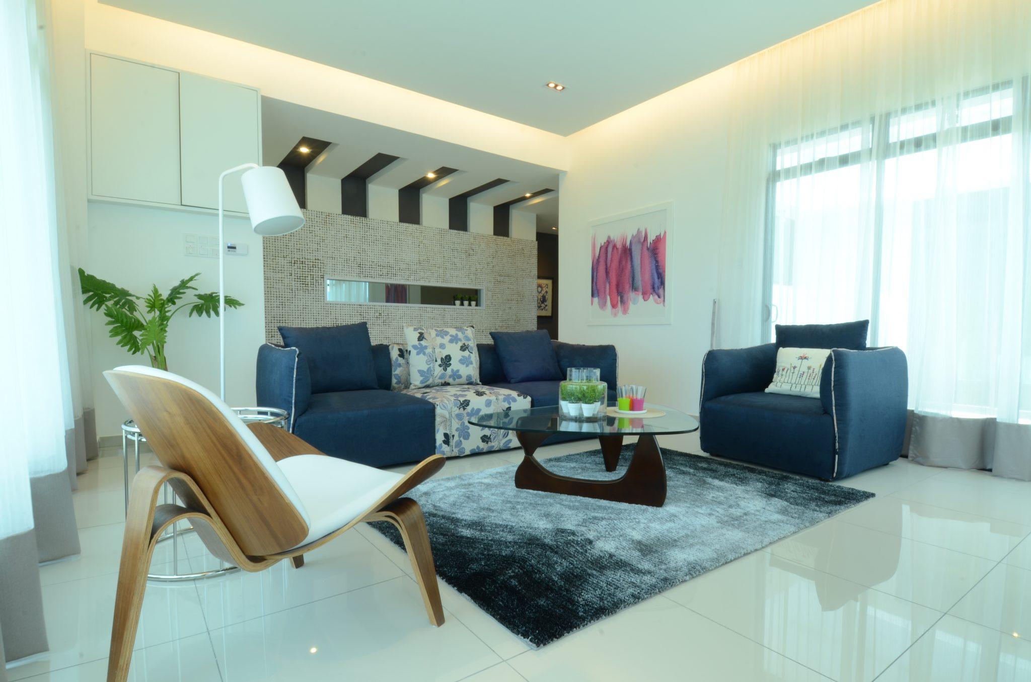 Single Storey Living - Living Hall