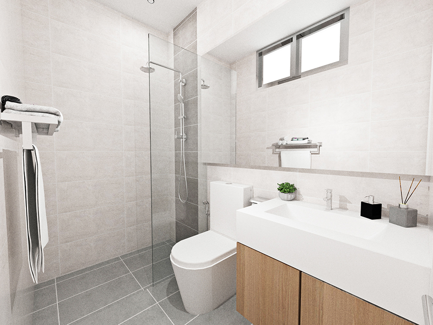 Double Storey Cluster Home Bathroom 3