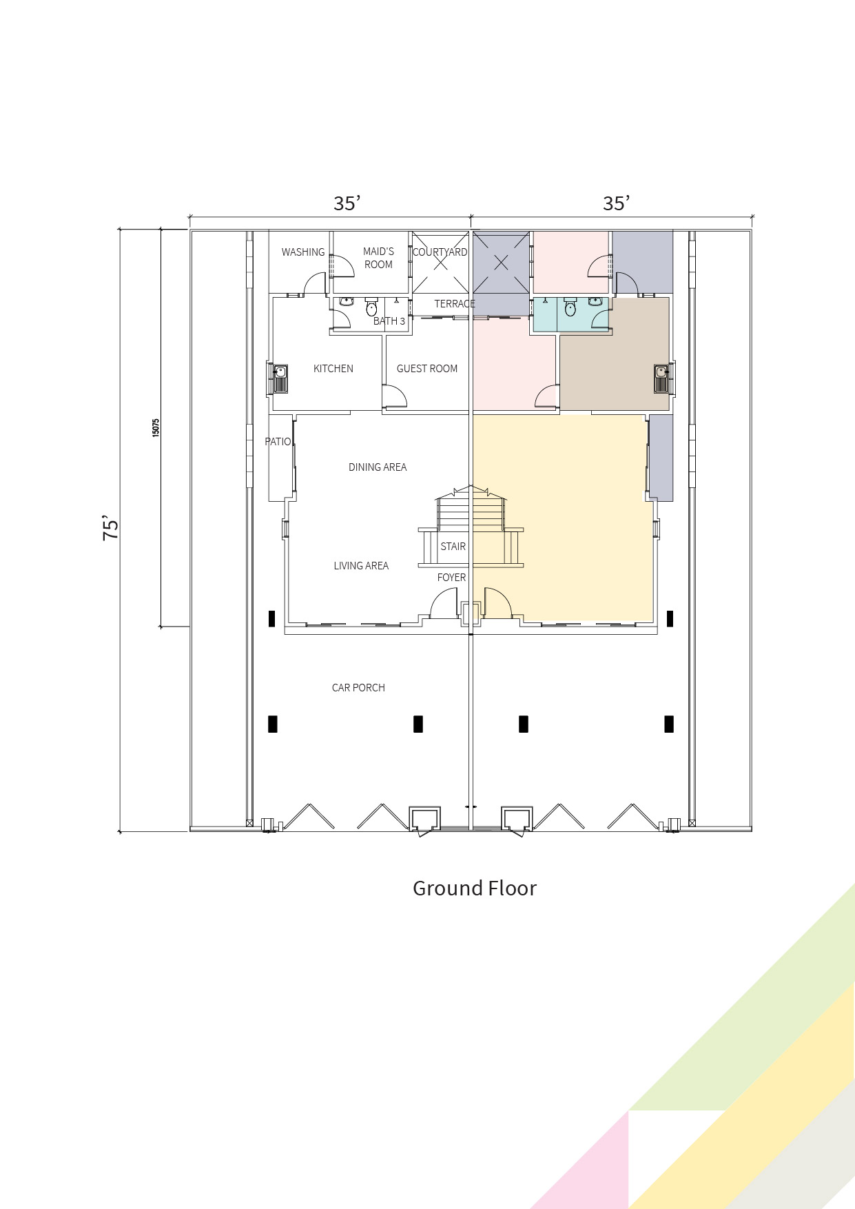 Primrose Double floor plan