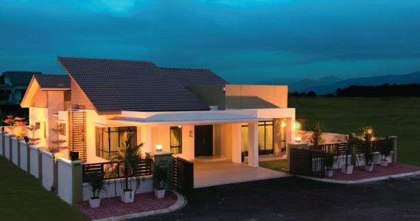 Aster single storey bungalow