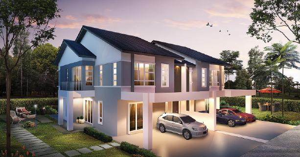 IXORA semi-detached 4 + 1 bedroom home Ipoh, Perak