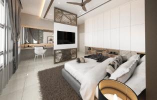 Semi D master bedroom