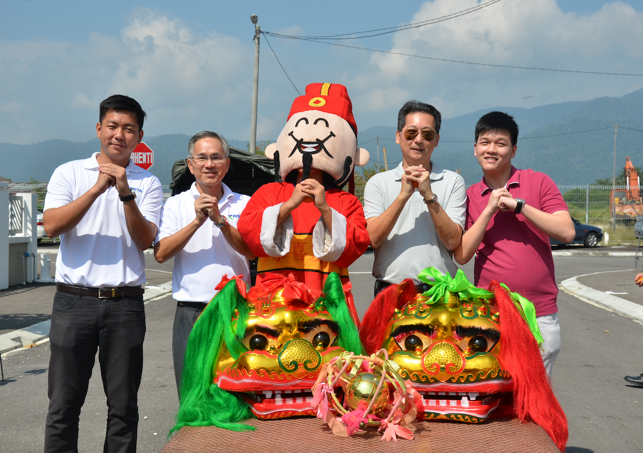 CNY Open House at Aspen Ipoh