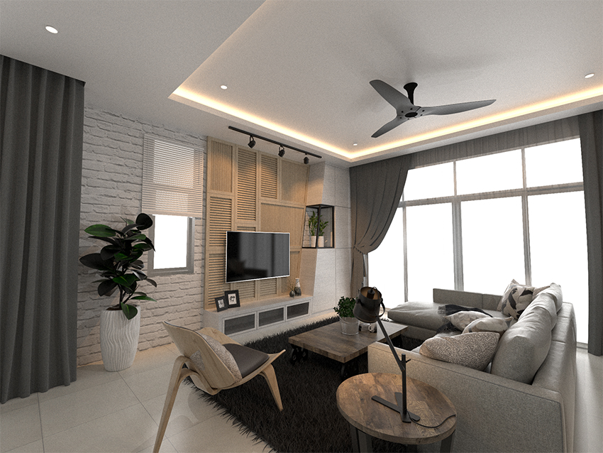 A Home Design Inspired By A Corner Of Light Kinta Properties