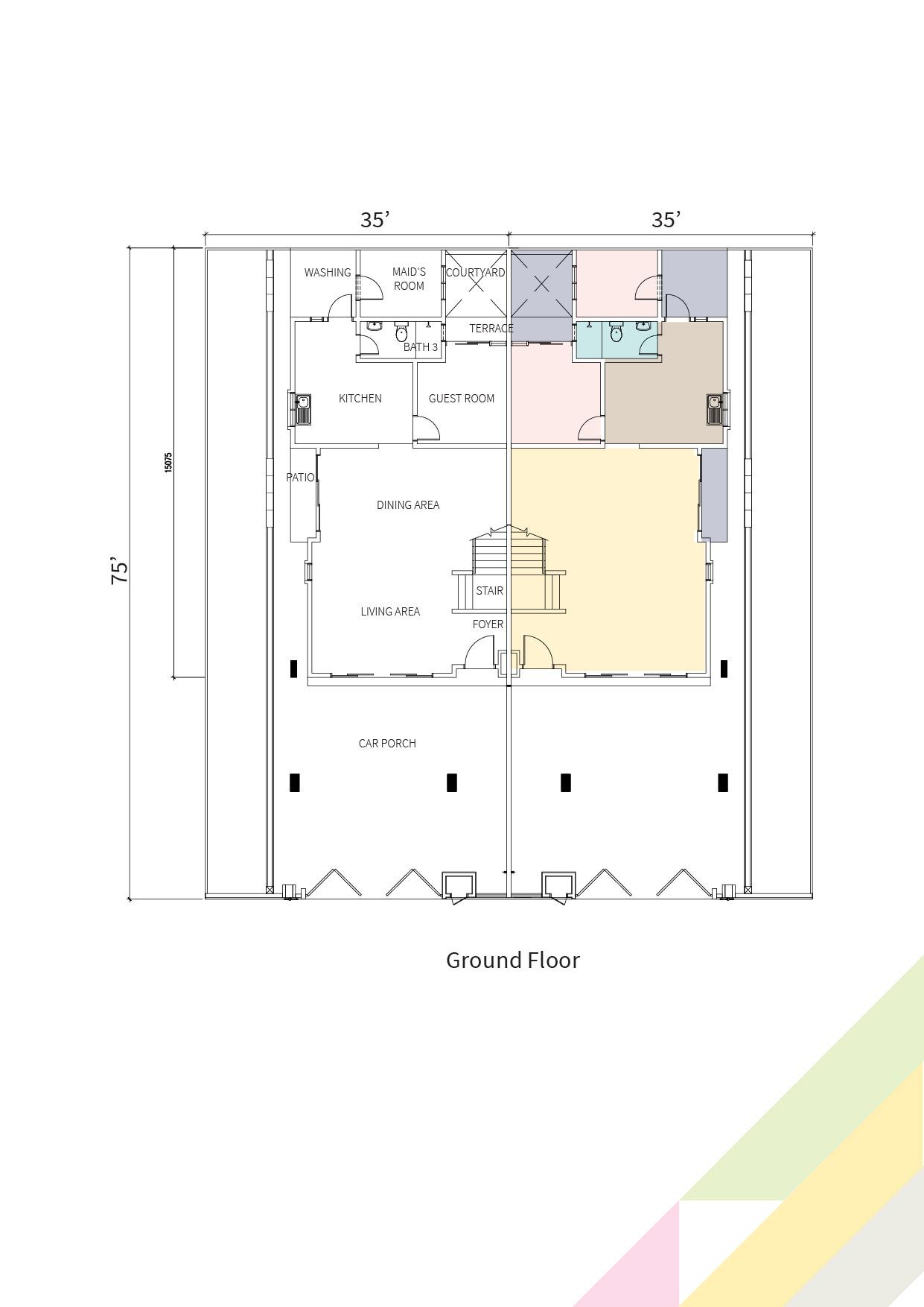 Primrose Double floor plan