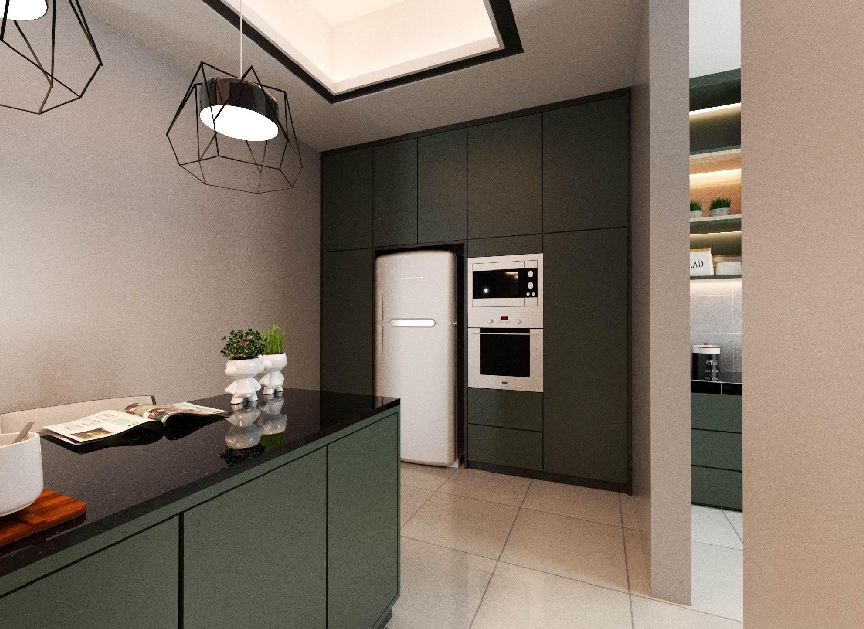 New Semi D Ipoh - Kitchen