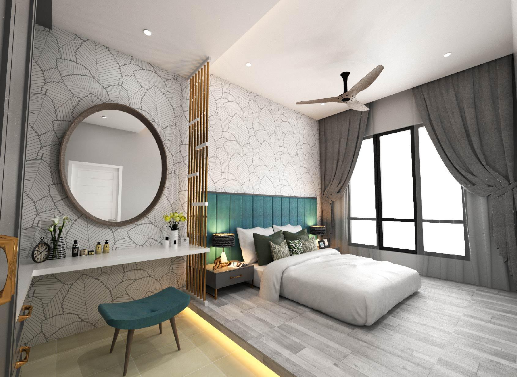 Ixora semi-D Bedroom