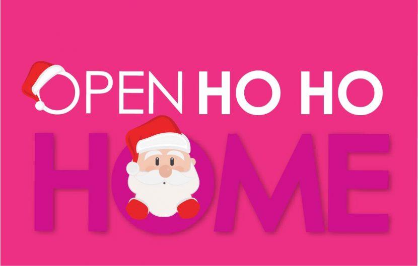 Open House Christmas Santa