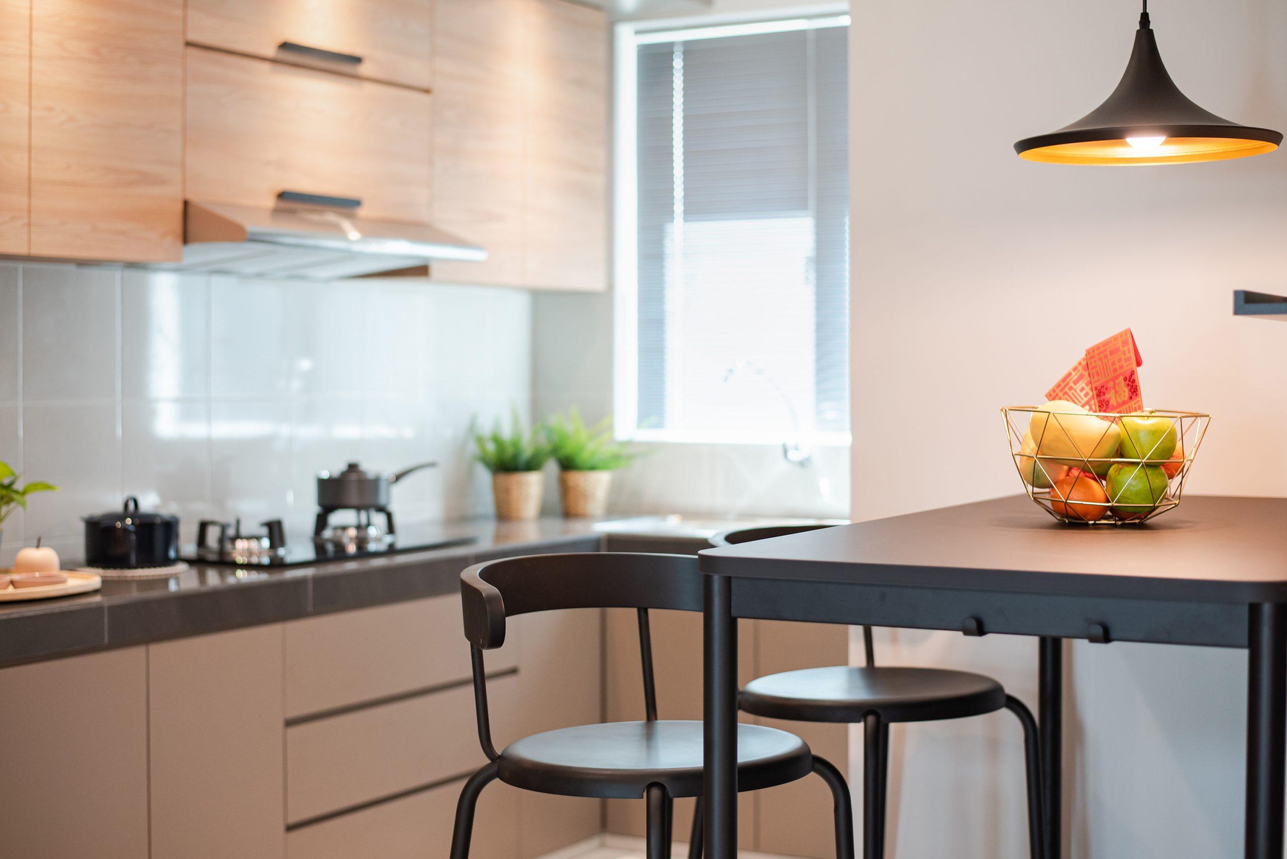 Cornflower kitchen
