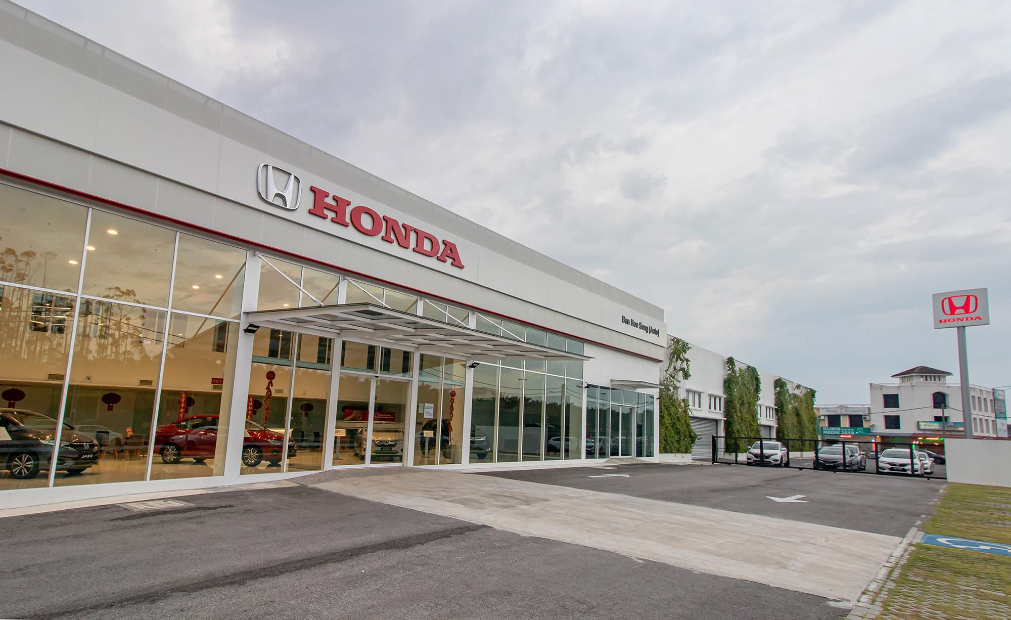 Honda show room